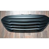 Черная матовая решетка радиатора Hyundai ix35 2010-15 тюнинговая Tomato