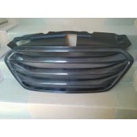Карбон глянцевый решетка радиатора Hyundai ix35 2010-15 тюнинговая
