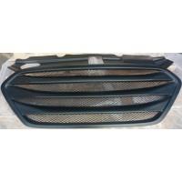 Черная матовая решетка радиатора Hyundai ix35 2010-15 тюнинговая