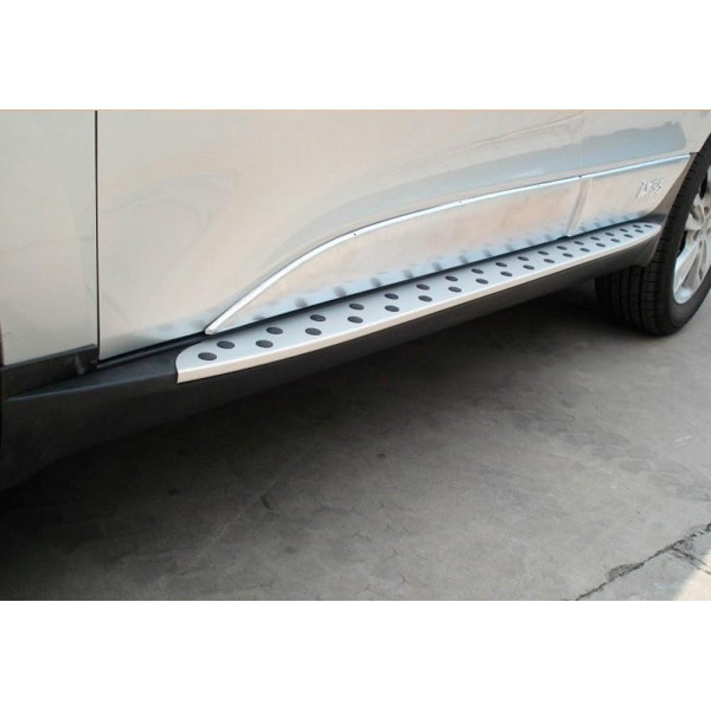 Пороги стиль BMW для Hyundai ix35 (2010-14)
