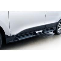 Пороги стиль Mobis для Hyundai ix35 (2010-14)