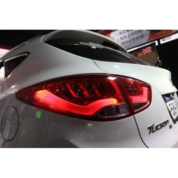 Задние LED фары в стиле Audi Q7