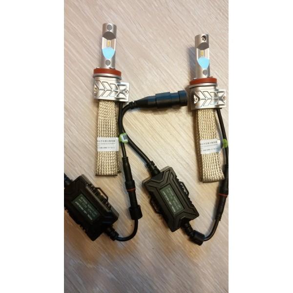 Светодиодные лампы H11 с пассивным охлаждением