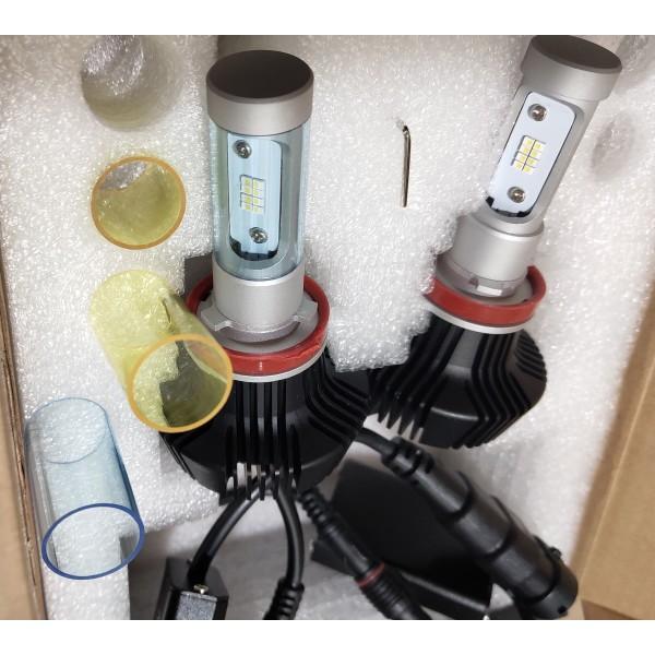 Светодиодные лампы H8 с пассивным охлаждением